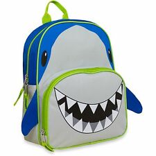Shark Backpack with Shark Pencils Animal Friends Critter School Bag