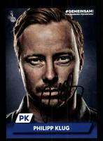 Philipp Klug  Autogrammkarte MSV Duisburg 2019-20  Original Signiert