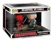 Funko - POP Marvel: Comic Moments - Deadpool vs. Cable Brand New In Box