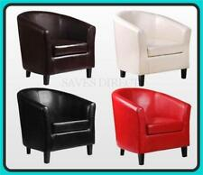 Unbranded Faux Leather Armchairs