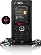 Sony ERICSSON w880 Walkman Black (Senza SIM-lock) 3g 2,0mp video chiamata mp3 ORIGINALE