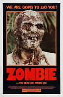 72730 ZOMBI 2 aka Zombie RARE Zombies Lucio Fulci We Wall Print POSTER Plakat