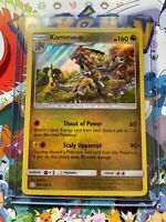 Kommo-o 163/236 Holo Rare Cosmic Eclipse Pokemon Near Mint Toploader - (B98)