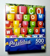 Welcome Cups Puzzlebug 500 piece Brand New FREE SHIPPING
