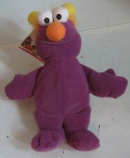 "TYCO Sesame Street PURPLE HONKER 7"" Bean Bag STUFFED ANIMAL Toy 1997 w/Tags"
