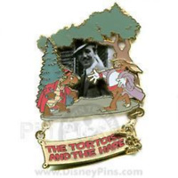 Disney Pin 53255 WDW Walt Award Winning Performances Tortoise and the Hare LE