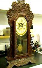 Clock Repair DVD Video - Waterbury Mantel Clock with Steel or Brass Plates