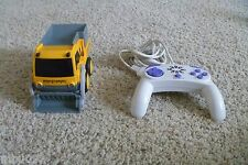 Rokenbok RC Classic Yellow Loader with working headlights & Control Pad set lot
