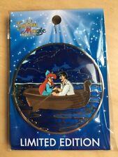 PIN Disney Acme Ariel Eric Hot art Golden magic LE 300 Jumbo 'Kiss The Girl'
