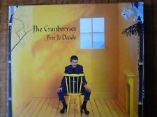 CD SINGLE  - THE CRANBERRIES - Free to Decide
