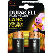 Duracell Plus Power Alcalinas MN1400 1.5 V LR14 TipoC Tamaño C Batería-Pack de 2