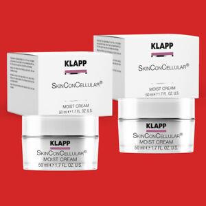 2x KLAPP Skinconcellular Moist Cream 50 ml