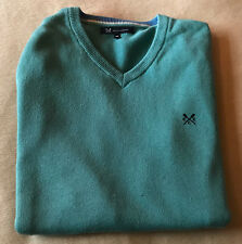 CREW CLOTHING DESIGNER SWEATER - MEDIUM