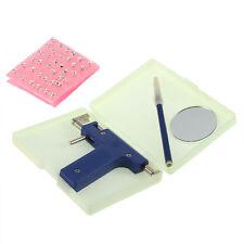 Pro Steel Ear Nose Navel Body Piercing Gun Studs Tool Kit Set COOL Design JYL