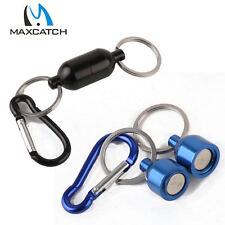 Maxcatch clip  magnetique filet, pêche à la mouche bleu/noir lot de 2