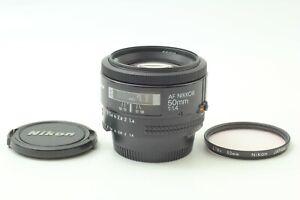 [NEAR MINT w/Filter] Nikon AF Nikkor 50mm f1.4 Standard Prime AF Lens From JAPAN