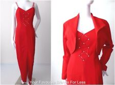 HOTLINE BY CHERYL T. Vintage Dress & Jacket Size 8/10 US 4 /6  Made in Australia