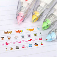 Creative Stationery Push Correction Tape Lace for Key Tags Sign Students NT