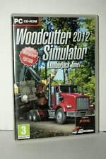 WOODCUTTER 2012 SIMULATOR LUMBERJACK TIME! USATO PC CDROM VER ITALIANA GD1 46430