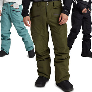 Burton Gore-Tex Vent Pantaloni Herren-Winterhose da Sci e Snowboard Nevicata
