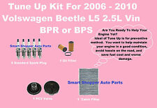Tune Up Kit for 2008-2010 Volkswagen Beetle L5 Spark Plug Oil Cabin, fuel Filter