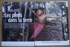 Article Malaisie, les Bumiputra, fils de la terre  , Pahang  ,2005,clipping