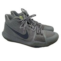 Nike Kyrie 3 Mens Basketball Shoes Cool Grey 852395-001 Size 12