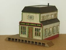 ho scale ELISHA GAINS GENERAL STORE BUILDING for Model Train Layouts & Displays