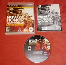 Medal of Honor: Warfighter -- Limited Edition (Sony PlayStation 3, 2012) *TESTED