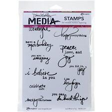 Ranger Dina Wakley Media Cling Stamps - 265239