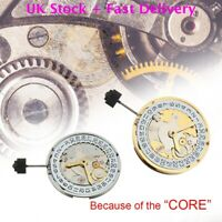 UK Clone 2824-2 Wristwatches Automatic Movement Replace Finish Polish For ETA QT