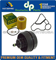 Compatible with Many BMW Vehicles Oil Filter Housing Cover w// Gasket OEM# 11-42-7-525-334