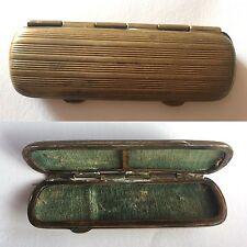 Porta aghi vintage in ottone