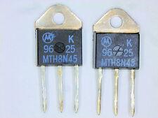 "MTH8N45 ""Original"" Motorola MOSFET Transistor 2  pcs"