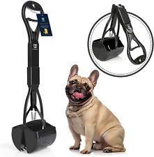 Degbit Non Breakable Dog Pooper Scooper For Large & Small Dogs Long Handle New