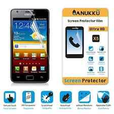 3x PELLICOLA PROTETTIVA per Samsung Galaxy S2 FRONTE + PANNO