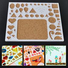 Paper Quilling Tool Quilled Template Board Papercraft Scrapbook Filigree Art DIY