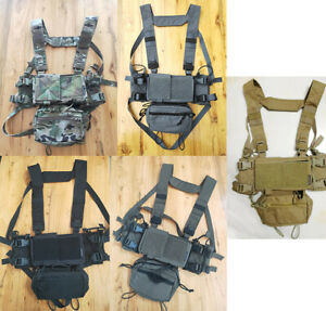 Tactical High-end Version SS Micro Fight Chassis MK3 MK4 Chest Rig Multicam