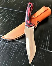 """9"""" TACTICAL BOWIE SURVIVAL HUNTING KNIFE MILITARY DAGGER Fixed Blade w/ SHEAT WD"""