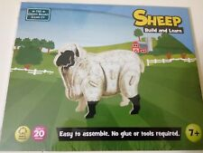 Puzle de Oveja en madera fina SHEEP Build and Learn