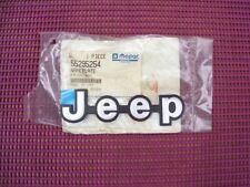 NOS MoPar 1991 - 1996 Jeep Cherokee lift gate NAMEPLATE 55295254