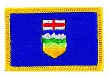 Patch écusson brodé Drapeau  ALBERTA  FLAG  Thermocollant CANADA