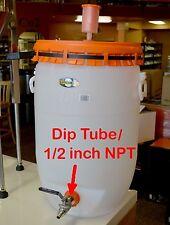 Jaybird Stainless Steel DIP TUBE for Speidel Plastic Fermenter Beer Wine Whiskey