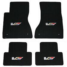 2004-2007 Cadillac CTS-V FLOOR MAT SET, LLOYD Classic Loop™ V Logo on all 4 Mats