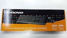 LENOVO KEYBOARD MOUSE COMBO KM4802 USB 2.0 - BLACK