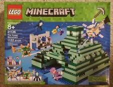 NEW IN BOX LEGO MINECRAFT THE OCEAN MONUMENT 21136 1122 PIECES