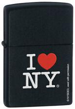 Zippo Lighter Black Matte Personalised Engraved