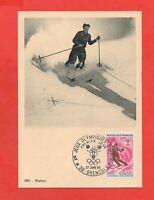 FDC 1968 - Juegos Olímpicos de Invierno Grenoble - El Esqui - Slalom (K39)