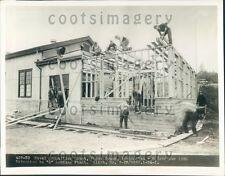 1933 PWA Workers US Naval Ammunition Depot Puget Sound WA Press Photo