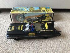 Carlos V Batmobile Batman Murcielauto No. 4 Argentina Tin Toy Car Boxed Vintage